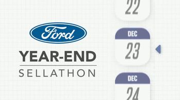 Ford Year-End Sellathon TV Spot, 'Don't Miss' [T2] - Thumbnail 1