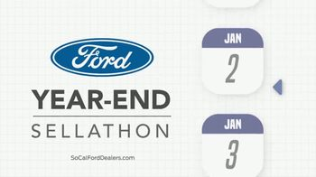 Ford Year-End Sellathon TV Spot, 'Time Is Slipping Away' [T2] - Thumbnail 9