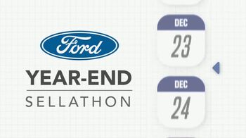 Ford Year-End Sellathon TV Spot, 'Time Is Slipping Away' [T2] - Thumbnail 1