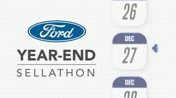 Ford Year-End Sellathon TV Spot, 'Time Is Slipping Away' [T2] - Thumbnail 2