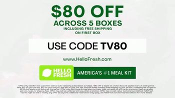 HelloFresh TV Spot, 'Monica, Matt and Olive: $80' - Thumbnail 9