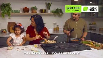 HelloFresh TV Spot, 'Monica, Matt and Olive: $80' - Thumbnail 3