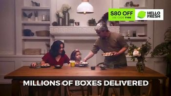 HelloFresh TV Spot, 'Monica, Matt and Olive: $80' - Thumbnail 6