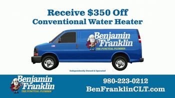 Benjamin Franklin Plumbing TV Spot, 'One Thing in Common: $350 Off Water Heater' - Thumbnail 10