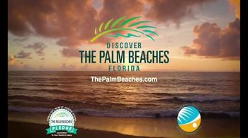 Discover the Palm Beaches TV Spot, 'Open Spaces and Sunny Places' - Thumbnail 8