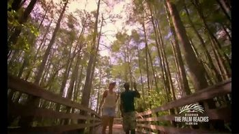 Discover the Palm Beaches TV Spot, 'Open Spaces and Sunny Places' - Thumbnail 6