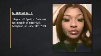 National Center for Missing & Exploited Children TV Spot, 'Spiritual Cole' - Thumbnail 1