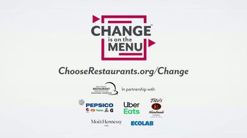 National Restaurant Association Educational Foundation TV Spot, 'Change Is on the Menu' - Thumbnail 8