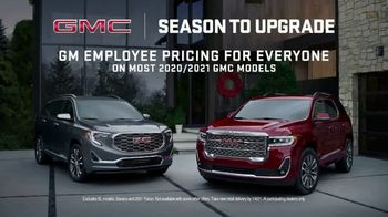 GMC Season to Upgrade TV Spot, 'One for You, One for Me' [T2] - Thumbnail 7
