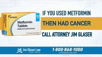 Jim Glaser Law TV Spot, 'Didn't Know: Workers Comp and Metformin' - Thumbnail 7