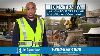 Jim Glaser Law TV Spot, \'Didn\'t Know: Workers Comp\'