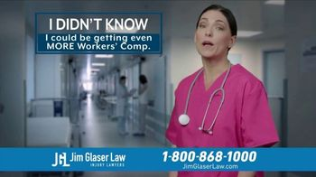 Jim Glaser Law TV Spot, 'Didn't Know: Workers Comp and Metformin' - Thumbnail 2
