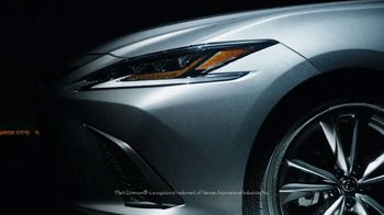 2019 Lexus ES TV Spot, 'Steal the Show' [T1] - Thumbnail 2