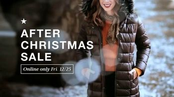 Macy's After Christmas Sale TV Spot, 'Holiday Looks, Handbags, Shoes and Coats' - Thumbnail 1