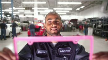 AutoNation TV Spot, 'One Step Closer With Pink Plates: Battery Deals' Song by Andy Grammer