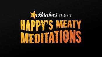 Hardee's TV Spot, 'Happy's Meaty Meditations: BOGO for $1' - Thumbnail 1