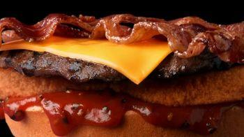Hardee's TV Spot, 'Happy's Meaty Meditations: BOGO for $1' - Thumbnail 3
