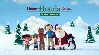 Happy Honda Days Sales Event TV Spot, 'Random Acts of Helpfulness: Tradition' [T2] - Thumbnail 8