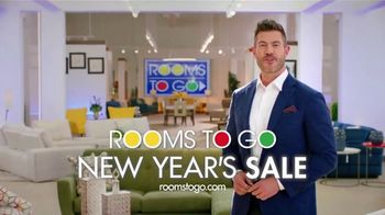 Rooms to Go New Year's Sale TV Spot, 'Hello 2021' Featuring Jesse Palmer