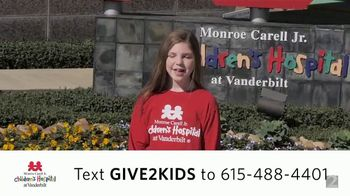 Monroe Carell Jr. Children's Hospital at Vanderbilt TV Spot, 'Holidays: Grace'