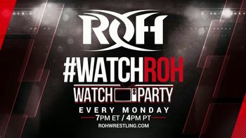 ROH Wrestling Watch Party TV Spot, 'Experience the Thrill of the Ring' - Thumbnail 10