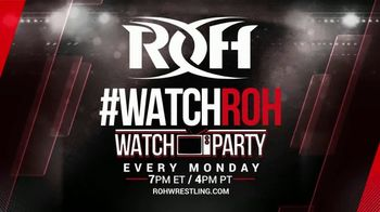 ROH Wrestling Watch Party TV Spot, 'Experience the Thrill of the Ring' - Thumbnail 9