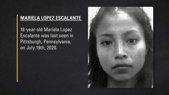 National Center for Missing & Exploited Children TV Spot, 'Mariela Lopez Escalante' - Thumbnail 4