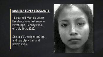 National Center for Missing & Exploited Children TV Spot, 'Mariela Lopez Escalante' - Thumbnail 6