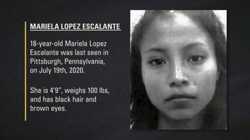 National Center for Missing & Exploited Children TV Spot, 'Mariela Lopez Escalante' - Thumbnail 7