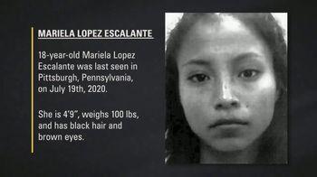 National Center for Missing & Exploited Children TV Spot, 'Mariela Lopez Escalante' - Thumbnail 8