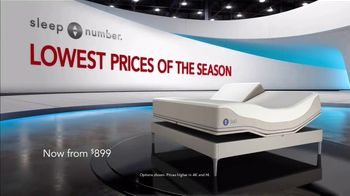 Sleep Number New Year's Special TV Spot, 'Adjust Your Comfort: Queen for $899' - Thumbnail 1