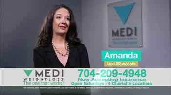 Medi-Weightloss TV Spot, 'Amanda: Before and After'