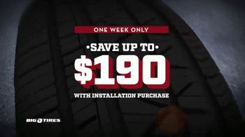Big O Tires Year End Sales Event TV Spot, 'Continental Tires: $140 Savings' - Thumbnail 3