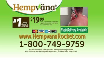 Hempvana Rocket TV Spot, 'Pain, Pain, Go Away: $19.99' - Thumbnail 9