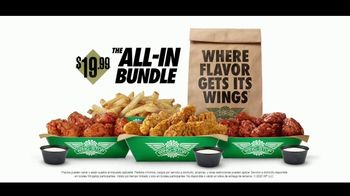 Wingstop All-In Bundle TV Spot, 'Stalemate' [Spanish] - Thumbnail 10