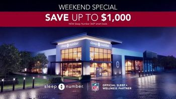 Sleep Number Lowest Prices of the Season TV Spot, 'Weekend Special: Save up to $1,000' - Thumbnail 9