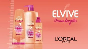 L'Oreal Paris Hair Care Elvive Dream Length TV Spot, 'Long Hair: Save That Last Inch'