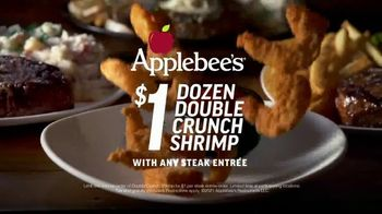Applebee's $1 Dozen Double Crunch Shrimp TV Spot, 'Love' Song by Redbone
