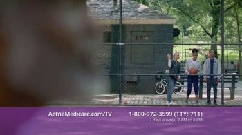 Aetna Medicare Advantage Plans TV Spot, 'Hoops: Turning 65' - Thumbnail 4