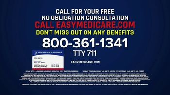 easyMedicare.com TV Spot, 'Trust: Giveback Benefit' Featuring Joe Theismann - Thumbnail 9