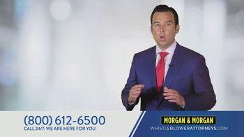 Morgan & Morgan Law Firm TV Spot, 'Whistleblowers' - Thumbnail 1