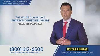 Morgan & Morgan Law Firm TV Spot, 'Whistleblowers' - Thumbnail 3
