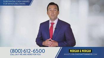 Morgan & Morgan Law Firm TV Spot, 'Whistleblowers' - Thumbnail 6