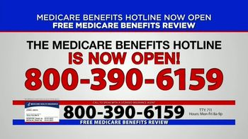 Medicare Benefits Hotline TV Spot, 'Now Available: COVID-19'