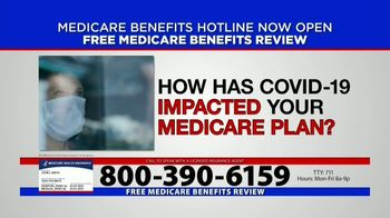 Medicare Benefits Hotline TV Spot, 'Now Available: COVID-19' - Thumbnail 2