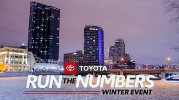 Toyota Run the Numbers Winter Event TV Spot, 'Save: Highlander' [T2] - Thumbnail 5