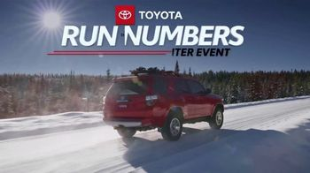 Toyota Run the Numbers Winter Event TV Spot, 'All-Wheel Drive' [T2] - Thumbnail 2