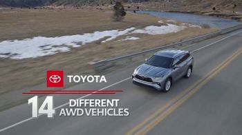Toyota Run the Numbers Winter Event TV Spot, 'All-Wheel Drive' [T2] - Thumbnail 3