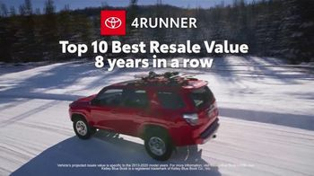 Toyota Run the Numbers Winter Event TV Spot, 'All-Wheel Drive' [T2] - Thumbnail 5