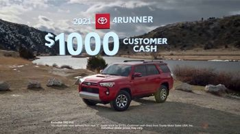 Toyota Run the Numbers Winter Event TV Spot, 'All-Wheel Drive' [T2] - Thumbnail 9